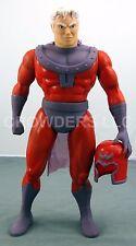 Marvel X-Men 15 Inch Magneto Poseable Action Figure w/ Helmet & Cape '91 Toy Biz