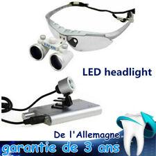 3.5x420mm Dental Loupes Surgical loupe binoculaire Loupes & LED Head Light Lamp
