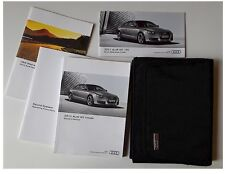 2011 11' Audi A5 Coupe Owners Manual w/ Case Sound System Warranty Quick Guide