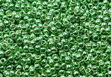 11/0 Round Toho Japan Glass Seed Beads #560-Galvanized Sea Foam 10 grams