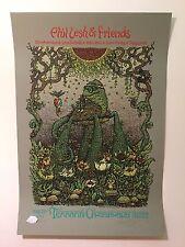Marq Spusta - Phil Lesh Terrapin Crossroads Print - Grateful Dead - Green A/E
