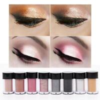 8 Colors Makeup Glitter Eye Shadow Shimmer Pigment Loose Powder Tool