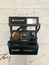 Polaroid Sun 660 AF SE Camera takes Type 600 Film, including Polaroid Carry Case