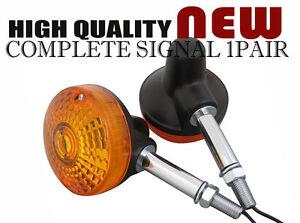 (TW16) SUZUKI TS100 TS125 TS185 TS250 TS400 FRONT/REAR SIGNAL LIGHT PAIR