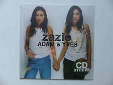 "CD Promo ZAZIE Adam & Yves 582872 2  Pochette format 25 cms 10"""