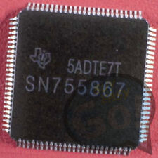 5PCS NEW SN755867 Manu:TI Encapsulation:TQFP-100 Plasma Buffer IC