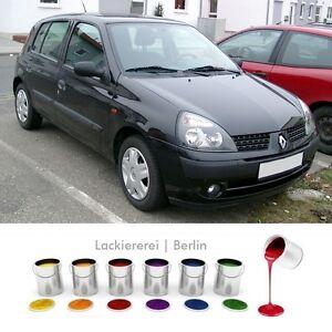 Renault Clio II 2001-2003 STOßSTANGE Stoßfänger VORNE LACKIERT IN WUNSCHFARBE