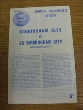 05/12/1967 Birmingham City v Birmingham City Ex And Invited Guests [Johnny Schof