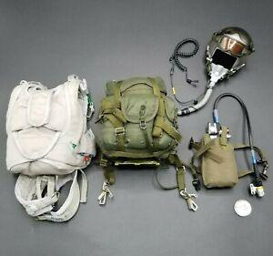 """1:6 Hot Toys Green Beret HALO Helmet Parachute Oxygen Set 12"""" GI Joe Dragon"""