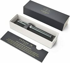 Parker IM Premium Retractable Ballpoint Pen With Gift Box Rollerball Black Pink