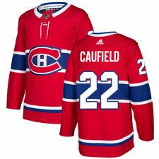Мужские Монреаль Канадиенс Коул Кауфилд домой Адидас красный плеер хоккейный свитер