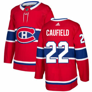 Men's Montreal Canadiens Cole Caufield Home adidas Red Player Hockey Jersey