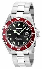 Invicta Mens Pro Diver Quartz Diving Watch W/ Stainless-Steel Strap, Silver, 21