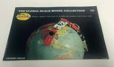 vintage 1968/69 Global Scale Model Collection Catalog (15 pages) Tekno Schuco