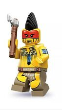 LEGO SERIES 10 MINIFIGS 'INDIAN MOHAWK WARRIOR' *OPENED, NEW PERFECT CONDITION*