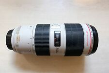 Canon EF 70-200mm f/2.8L IS II Mark II USM Image Stabilizer DSLR Lens Near Mint