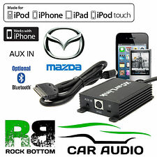 Mazda MX-5 Car Stereo Radio AUX IN iPod iPhone Interface Connection Cable