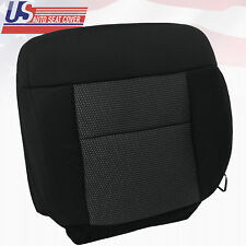 2004 2005 2006 Ford F150 FX4 Driver Bottom Cloth Replacement Seat Cover Black