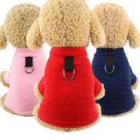 Winter Dog Clothes Soft Fleece Dog Coat Puppy Jackets Warm Small Dog Clothes