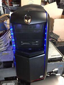Dell Alienware Aurora D01M004 Intel i7-3960x 3.30Ghz 32GB RAM 1TB HD 2x GeForce