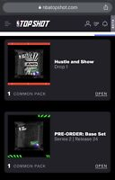 NBA top shot hustle and show pack and pre order serie 24 UNOPENED PACKS