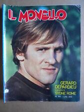 IL MONELLO n°44 1976 Andrea True Cristall Gerard Depardieu [G392]