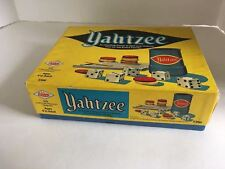 Vintage 1972 Yahtzee Game Extra Score Cards Pads Milton Bradley