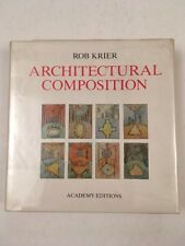 Architectural Composition 1991 with a drawing by Rob Krier