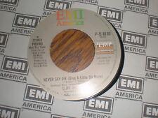 Cliff Richard 45 Never Say Die EMI PROMO