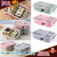 Microwave Bento Utensils Lunch Box Picnic SuShi Food Container Storage Box ST