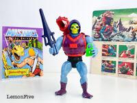 MOTU - DRAGON BLASTER SKELETOR - Original Mexico 1984 He-Man Action Figure #1