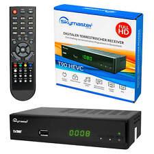 DVB-T2 FULL HD HDMI TV terrestrische Receiver Skymaster Blue T90 HEVC H.265 USB