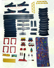 Tomy: Tomica/Plarail: Vintage: TRACK/TRAIN/FIGURES/ACCESSORIES/INSTRUCTIONS