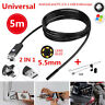 2In1 5M 5.5mm Android PC 6LED HD USB Endoscope Snake Borescope Inspection Camera