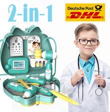 15+1Stk Doktor Arztkoffer Spielset Medizinische Rollenspiel Spielzeug für Kinder