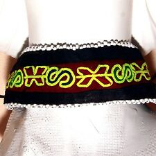 BellyDance ATS Costume Embroidered CHOKER Kuchi Tribe 798f10