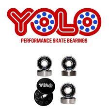 Yolo Swiss Bearings - Set Of 16 ( Skate & Skateboard )