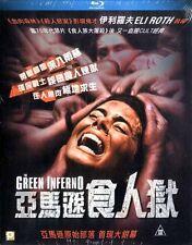 """Daryl Sabara """"The Green Inferno"""" Ariel Levy Thriller Region A Blu-Ray"""
