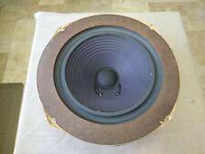 Vintage Original Advent Loudspeaker Woofer  w/Masonite ring / Refoamed /VG Cond.