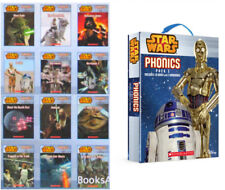 Star Wars Phonics Readers Box Set 2 - Pack includes 10 Books & 2 Workbooks NEW