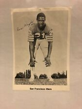 Eric Wright Autograph NFL 5x7 San Francisco 49ers 100% Authentic Original Signed