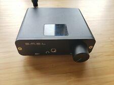 S.M.S.L B1 HiFi Stereo Audio Bluetooth CSR 4.2 Receiver DAC with NFC Black