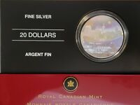 2006 Canada $20 Pengrowth Saddledome Silver Proof  Holographic in Original Pkg