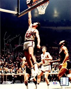 Dave Debusschere autographed signed inscribed 8x10 photo NBA New York Knicks PSA
