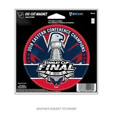 """WASHINGTON CAPITALS 2018 NHL EASTERN CONFERENCE CHAMPIONS 4"""" DIE-CUT MAGNET"""