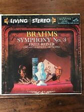 Reiner - Brahms: Symphony No. 3 LP (RCA Victor Living Stereo, LSC-2209) VG+/VG