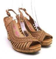 Dune Womens EU Size 39 Brown Sandals