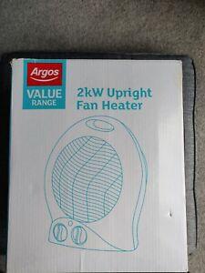 Argos upright Fan And Heater Combo