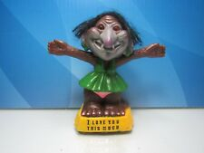 "1972 I Love You This Much - 4"" Berries Nodder Troll Doll - Rare"