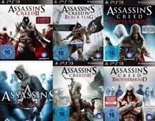 Playstation 3 Assassins Creed SIX PACK 1 + 2 + 3 +4 Brotherhood HERITAGE NW